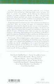 L'AMERIQUE LATINE (édition 2005/2006) - 4ème de couverture - Format classique
