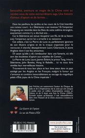 L'empire des larmes t.2 ; le sac du palais d'été - 4ème de couverture - Format classique