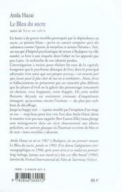 Le Bleu Du Sucre - 4ème de couverture - Format classique