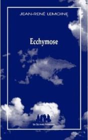 Ecchymose - Couverture - Format classique