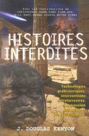 Histoires interdites - Intérieur - Format classique