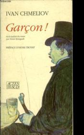 Garcon ! - Couverture - Format classique