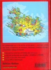Islande (édition 2005) - 4ème de couverture - Format classique