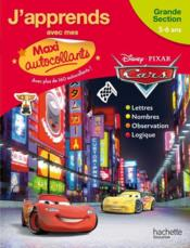 Vente livre :  Cars ; mes autocollants ; grande section  - Collectif