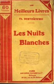 Les Nuits Blanches. Collection : Les Meilleurs Livres N° 131. - Couverture - Format classique