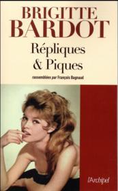 Répliques & piques - Couverture - Format classique
