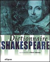 Dictionnaire shakespeare - Couverture - Format classique