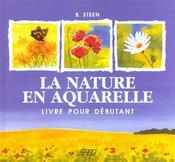 La nature en aquarelle - Intérieur - Format classique