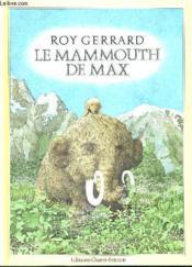 Mammouth de max - Couverture - Format classique