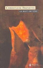 Nuit Entiere (La) - Couverture - Format classique