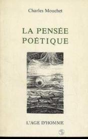 La Pensee Poetique - Couverture - Format classique