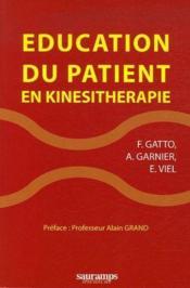 Éducation du patient en kinésithérapie - Couverture - Format classique