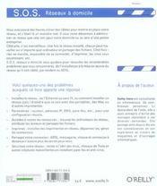 Sos Reaseaux A Domicile - 4ème de couverture - Format classique