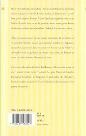 Le Chevalier à l'armure rouillée - 4ème de couverture - Format classique
