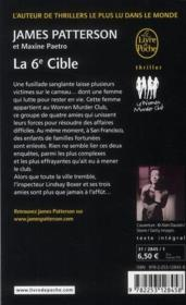 Vente  La 6ème cible  - James Patterson