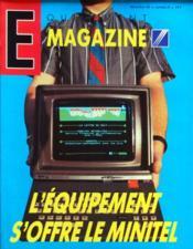 Equipement Magazine N°8 du 01/12/1985 - Couverture - Format classique