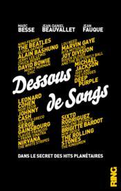 Dessous de songs - Couverture - Format classique