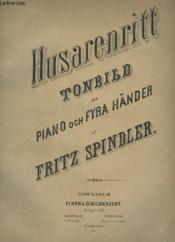 Husarenritt Tonbild För Piano Och Fyra Händer. - Couverture - Format classique