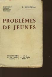 Problemes De Jeunes - Couverture - Format classique