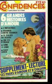 6 Grandes Histoires D'Amour - Couverture - Format classique