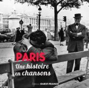 Paris, une histoire en chansons - Couverture - Format classique