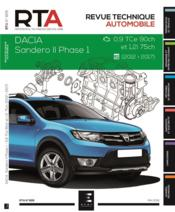 Vente  REVUE TECHNIQUE AUTOMOBILE N.826 ; Dacia Sandero hayon 5P II phase 1 2012-10  - Etai - Collectif