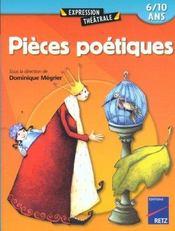 Pieces Poetiques 6/10 Ans - Intérieur - Format classique