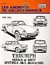 Triumph Herald Et Britt-Spitfire-Mk3-Mk4 (59/81)N 27 - Couverture - Format classique