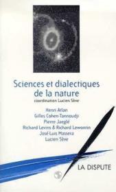 Sciences et dialesctiques de la nature - Couverture - Format classique