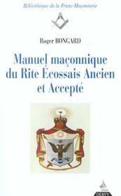 Manuel Maconnique Du Rite Ecossais Ancien Et Accepte - Intérieur - Format classique