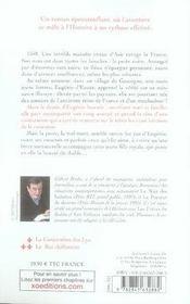 La peste noire t.1 ; la conjuration des lys - 4ème de couverture - Format classique