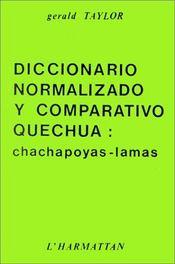 Diccionario Normalizado Y Comparativo Quechva : ... - Intérieur - Format classique