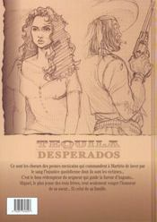 Tequila desperados t.1 ; tierras calientes - 4ème de couverture - Format classique