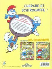 Ou Se Schtroumpfe Le Schtroumpf A Lunettes ? - 4ème de couverture - Format classique