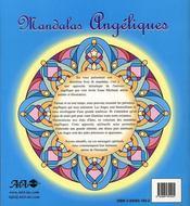 Mandalas angéliques - 4ème de couverture - Format classique