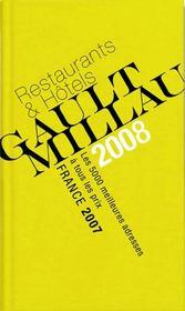 Guide Gault Millau France (Edition 2008) - Intérieur - Format classique