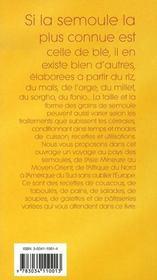 Grains de semoule - 4ème de couverture - Format classique
