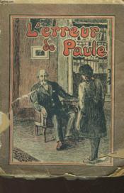 L'Erreur De Paule - Couverture - Format classique