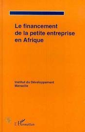 Le Financement De La Petite Entreprise En Afrique - Intérieur - Format classique