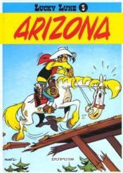 Lucky Luke t.3 ; Arizona - Couverture - Format classique