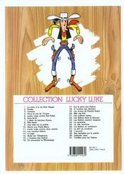 Lucky Luke t.3 ; Arizona - 4ème de couverture - Format classique