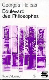 Boulevard Des Philosophes - Couverture - Format classique