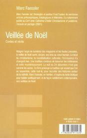 Veillee De Noel - 4ème de couverture - Format classique