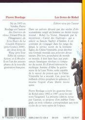 Rohel T.1 ; Le Cycle De Dame Asmine D'Alba - 4ème de couverture - Format classique