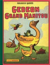 Gédéon, grand manitou - Couverture - Format classique