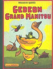 Gédéon, grand manitou - Intérieur - Format classique