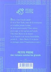 Le Neveu De Mon Oncle - 4ème de couverture - Format classique