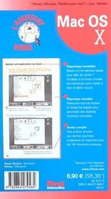 Assistent visuel mac os x - 4ème de couverture - Format classique
