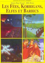 Les Fees, Korrigans, Elfes, Barbics - 4ème de couverture - Format classique