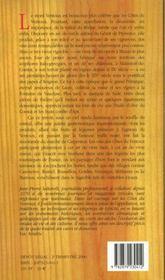 Les vins du ventoux - 4ème de couverture - Format classique